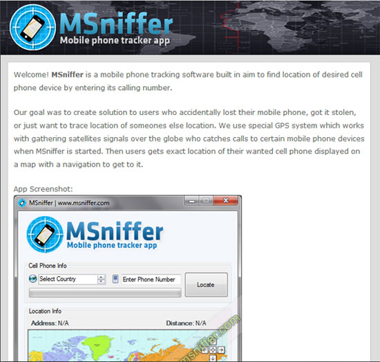 Track Phone Location Using Its Number With MSniffer Mobile App IP Wars - Find location of phone number on map
